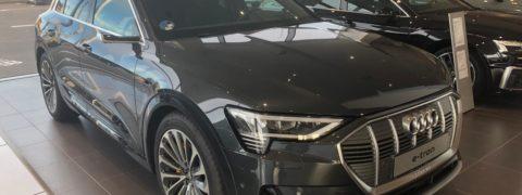 El Audi e-tron: un Audi sin espejos retrovisores convencionales.